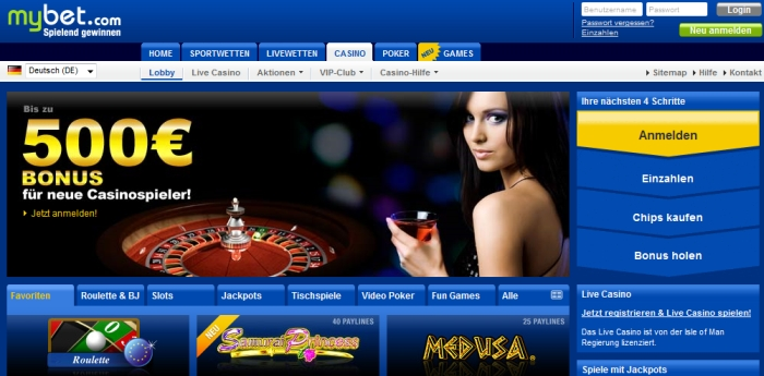 mybet Casino Online Roulette